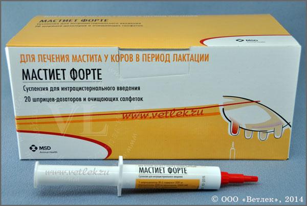 Лечение мастита лекарствами